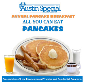 austin special chicago Pancake Breakfast Fundraiser